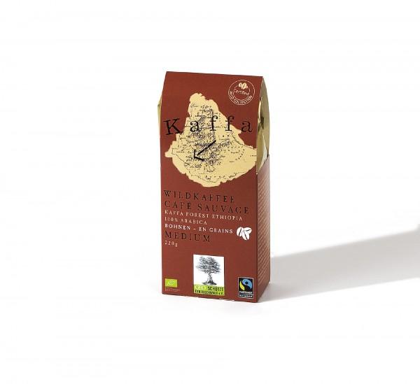 Kaffa Wildkaffee Medium 220g gemahlen