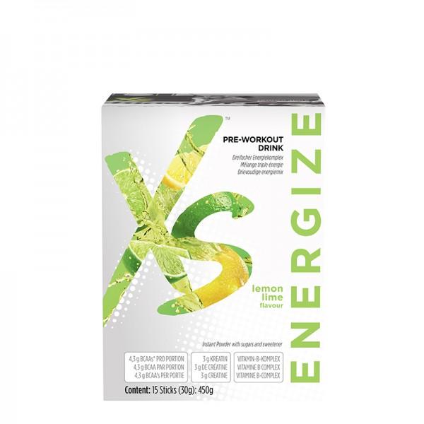 Pre-Workout Drink mit Zitronen-Limettengeschmack XS™