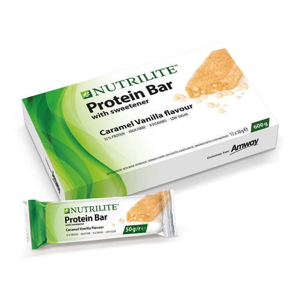 Proteinriegel Karamell-Vanille